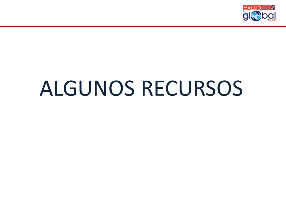 ALGUNOS RECURSOS