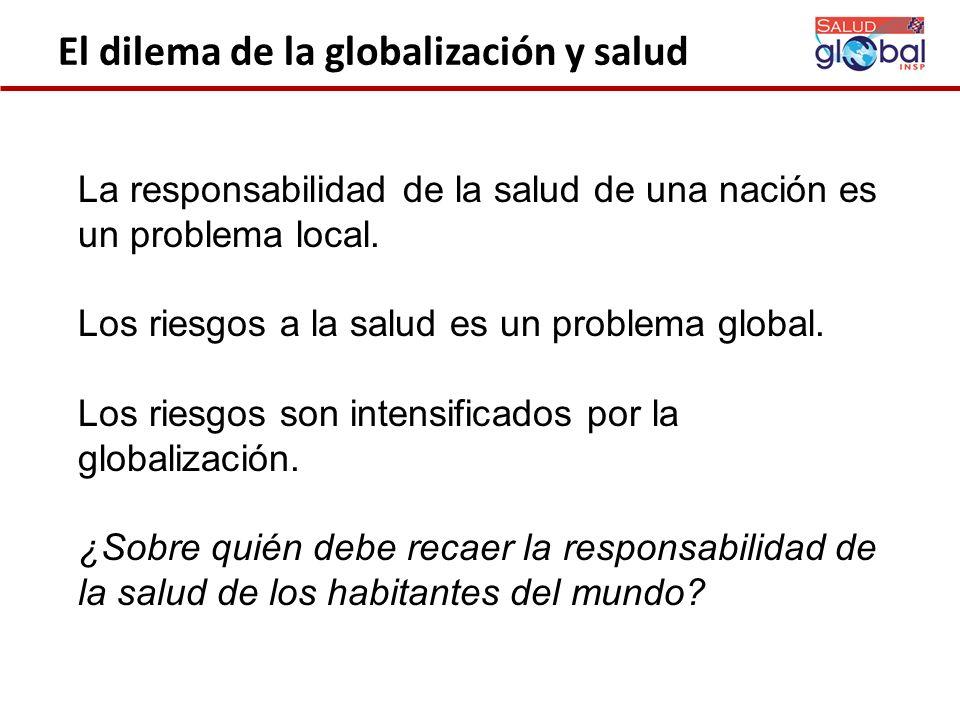 El dilema de la globalización y salud