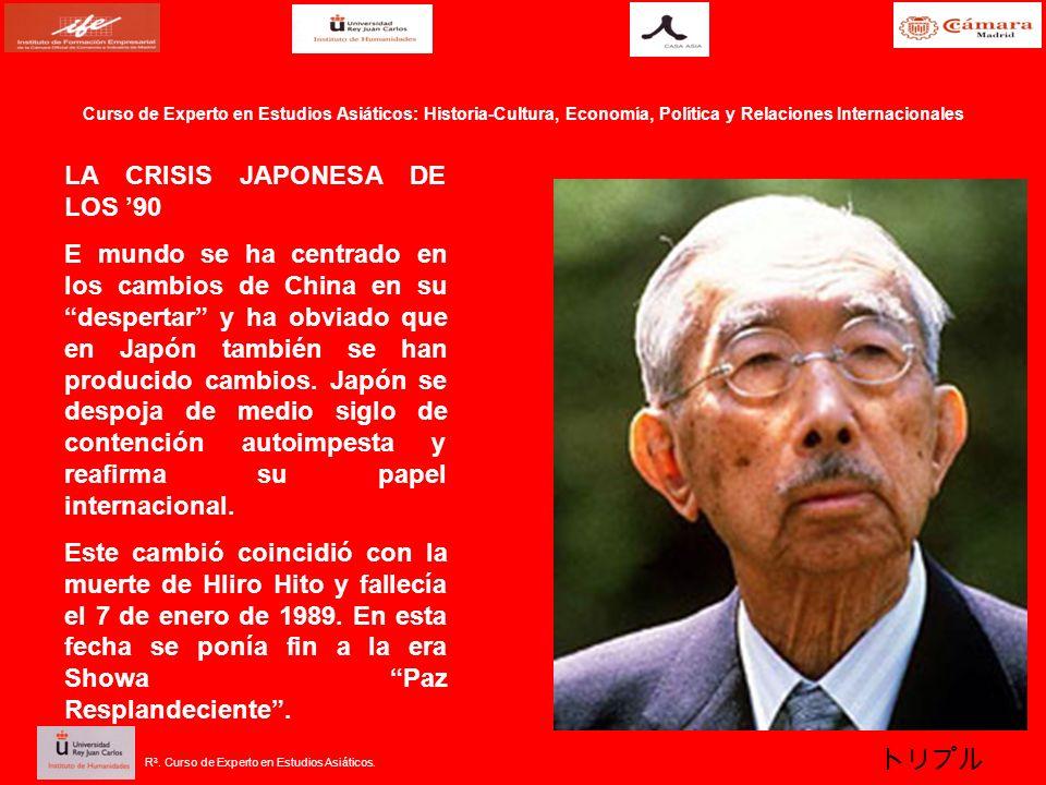 LA CRISIS JAPONESA DE LOS '90