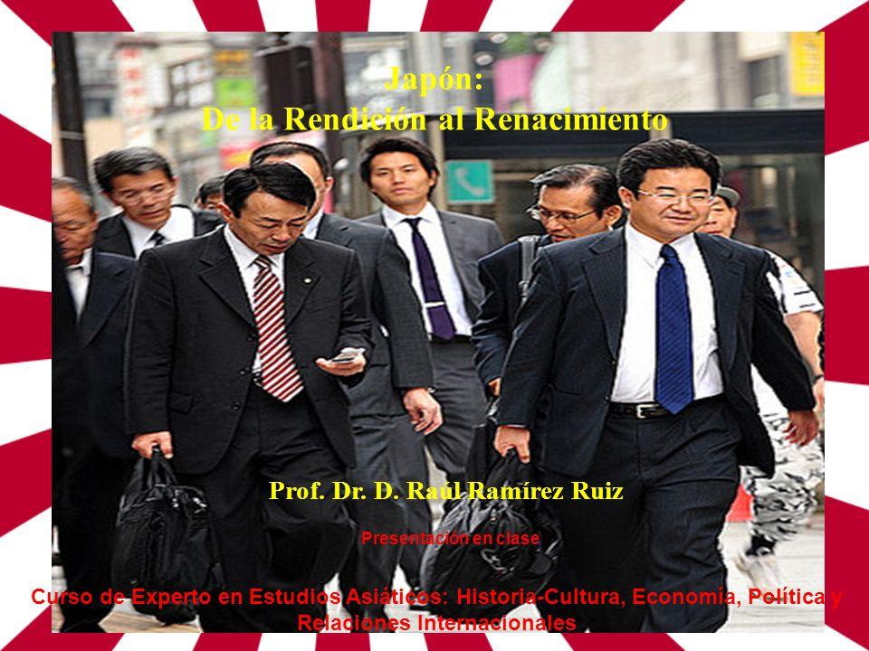De la Rendición al Renacimiento Prof. Dr. D. Raúl Ramírez Ruiz