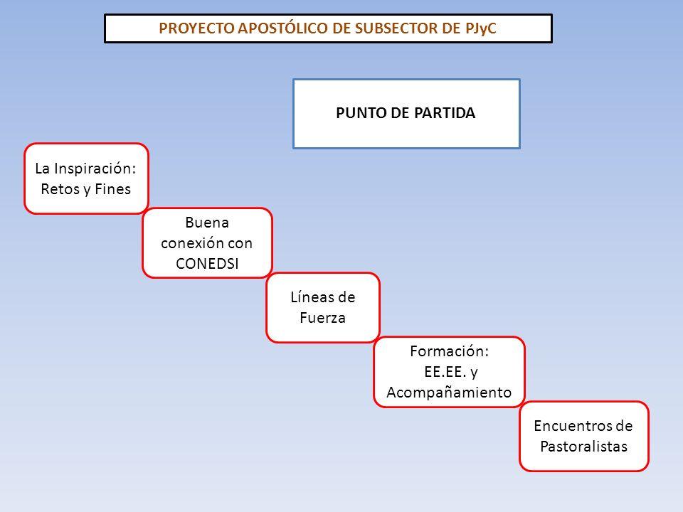 PROYECTO APOSTÓLICO DE SUBSECTOR DE PJyC