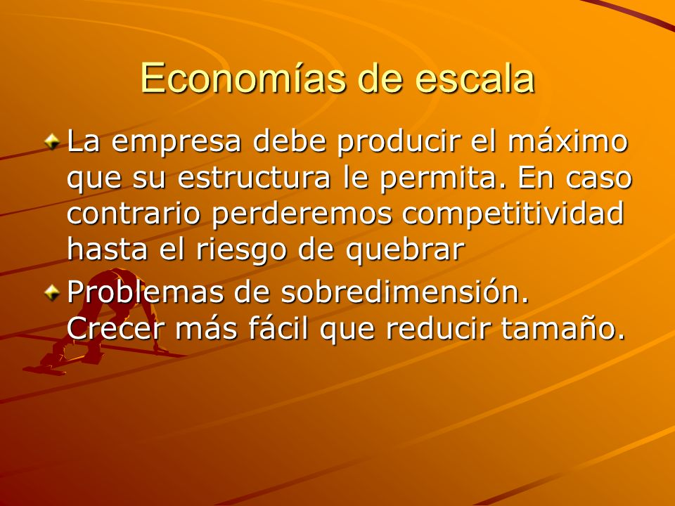 Economías de escala