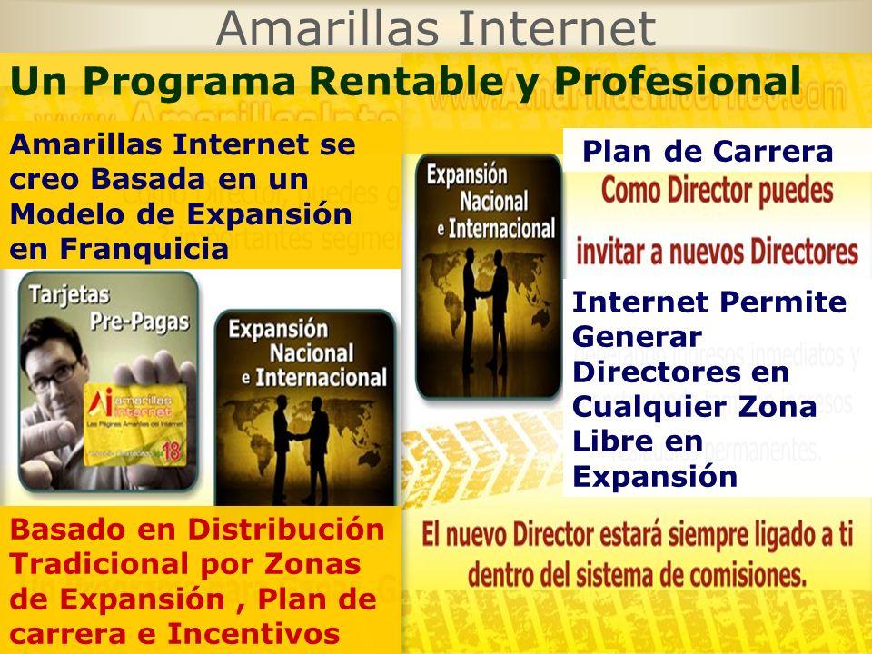 Amarillas Internet Un Programa Rentable y Profesional