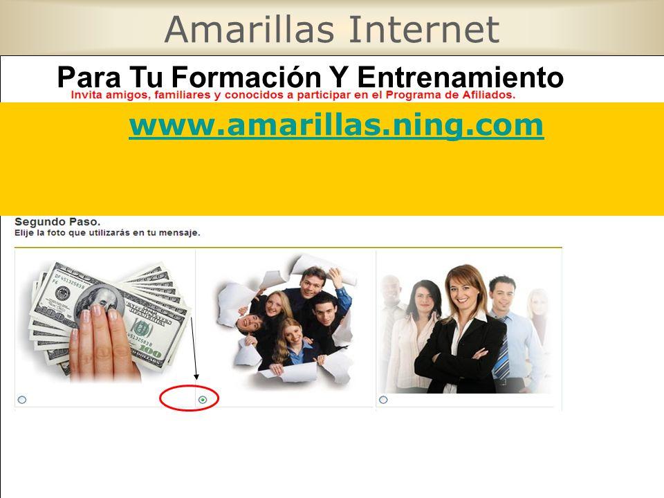 Amarillas Internet Para Tu Formación Y Entrenamiento