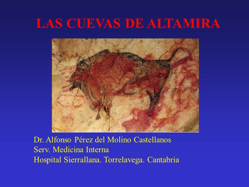 LAS CUEVAS DE ALTAMIRA Dr. Alfonso Pérez del Molino Castellanos