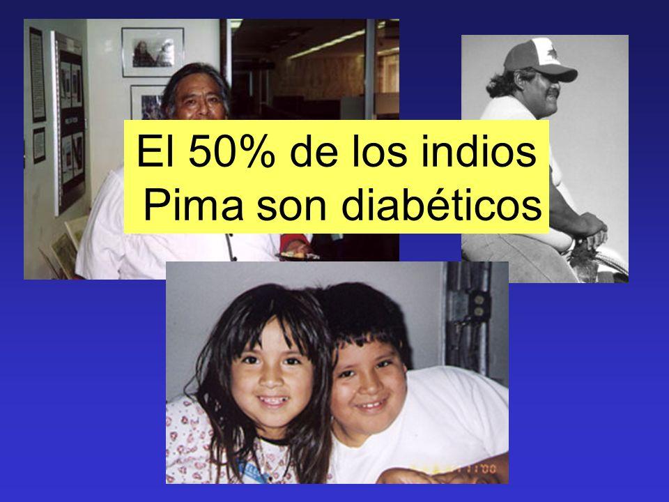 El 50% de los indios Pima son diabéticos