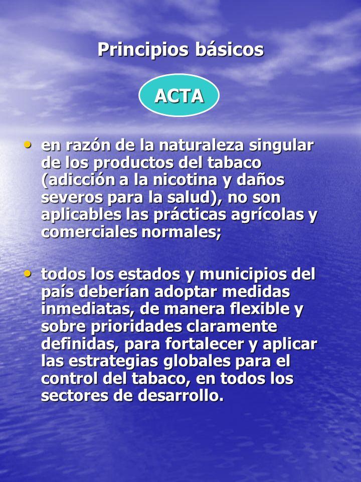 Principios básicos ACTA
