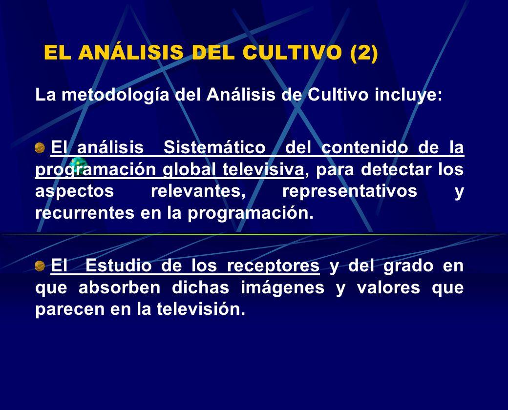 EL ANÁLISIS DEL CULTIVO (2)