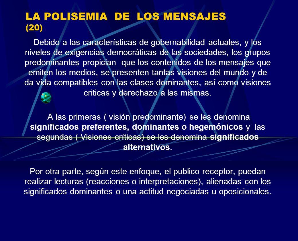 LA POLISEMIA DE LOS MENSAJES (20)