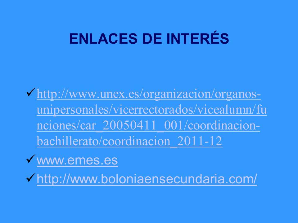 ENLACES DE INTERÉS