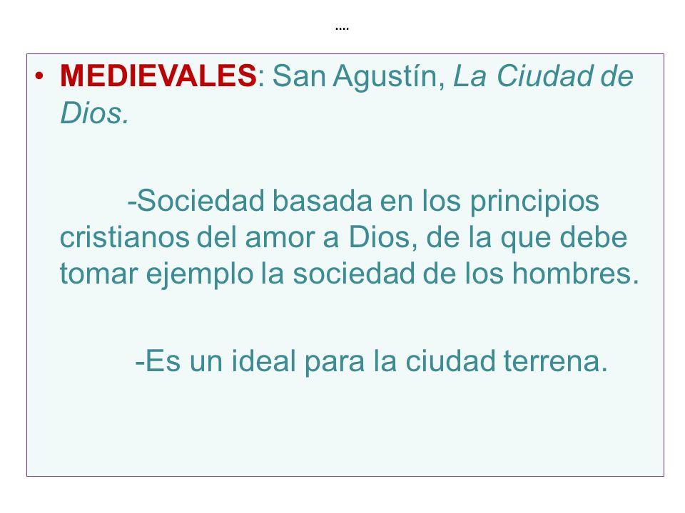 MEDIEVALES: San Agustín, La Ciudad de Dios.
