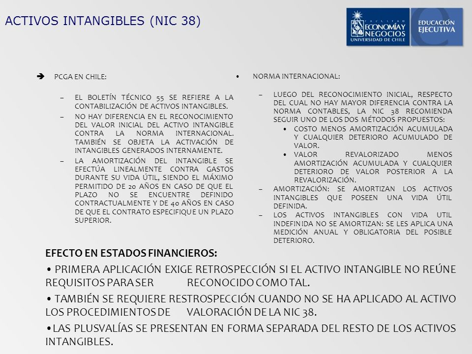 ACTIVOS INTANGIBLES (NIC 38)