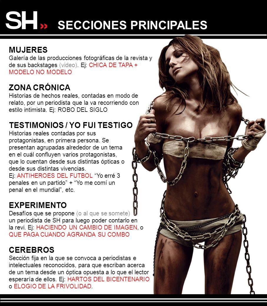 SECCIONES PRINCIPALES