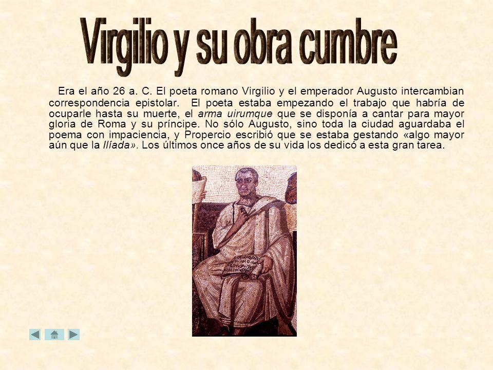 Virgilio y su obra cumbre
