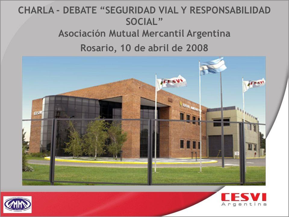 CHARLA - DEBATE SEGURIDAD VIAL Y RESPONSABILIDAD SOCIAL Asociación Mutual Mercantil Argentina