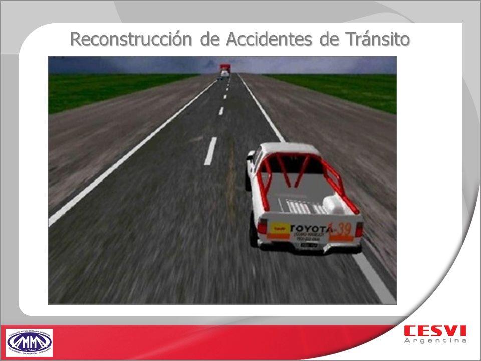 Reconstrucción de Accidentes de Tránsito
