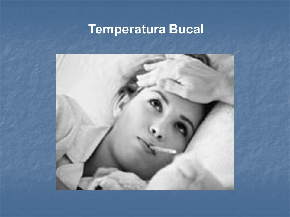 Temperatura Bucal