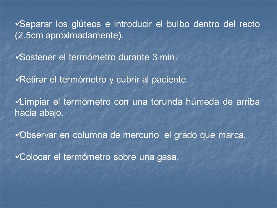 Separar los glúteos e introducir el bulbo dentro del recto (2