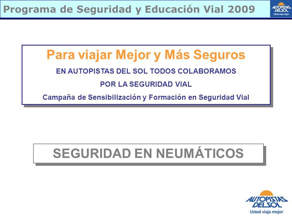 Programa de Seguridad y Educación Vial 2009