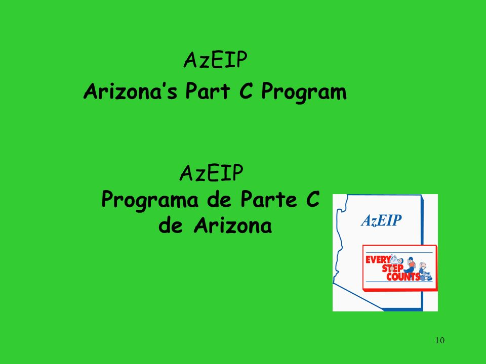 AzEIP Arizona's Part C Program