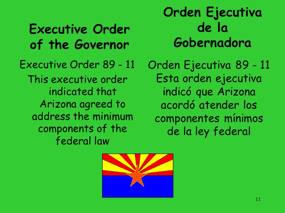 Executive Order of the Governor