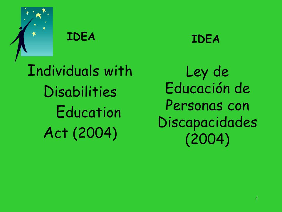 Ley de Educación de Personas con Discapacidades (2004)