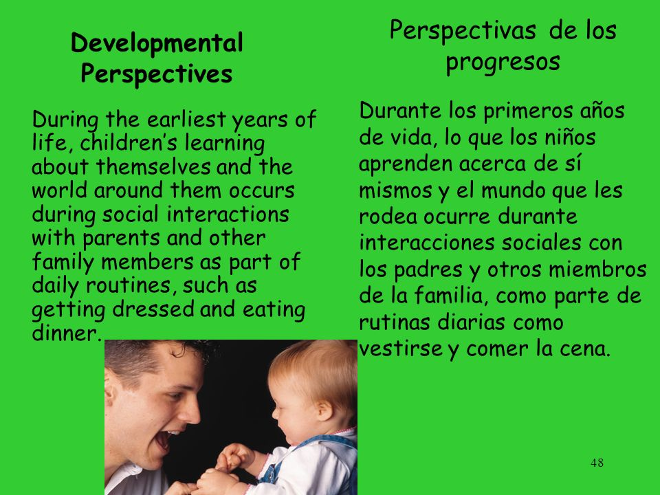 Developmental Perspectives