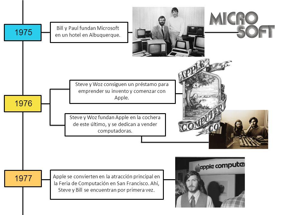 Bill y Paul fundan Microsoft en un hotel en Albuquerque.