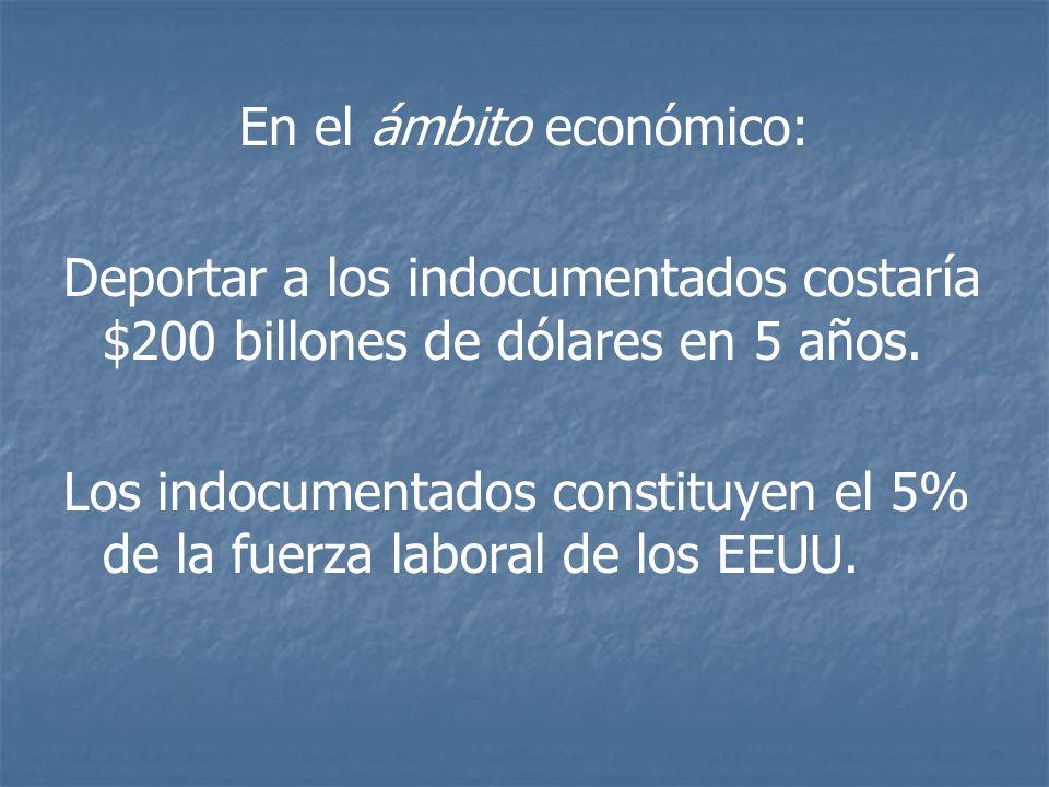 En el ámbito económico: