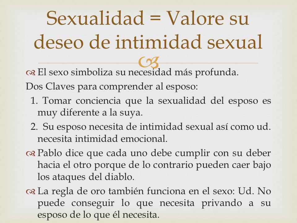 Cómo diferenciar sexualidad de intimidad? - La Mente