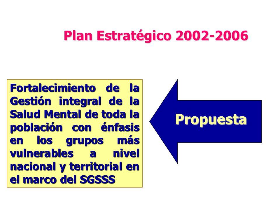 Propuesta Plan Estratégico 2002-2006