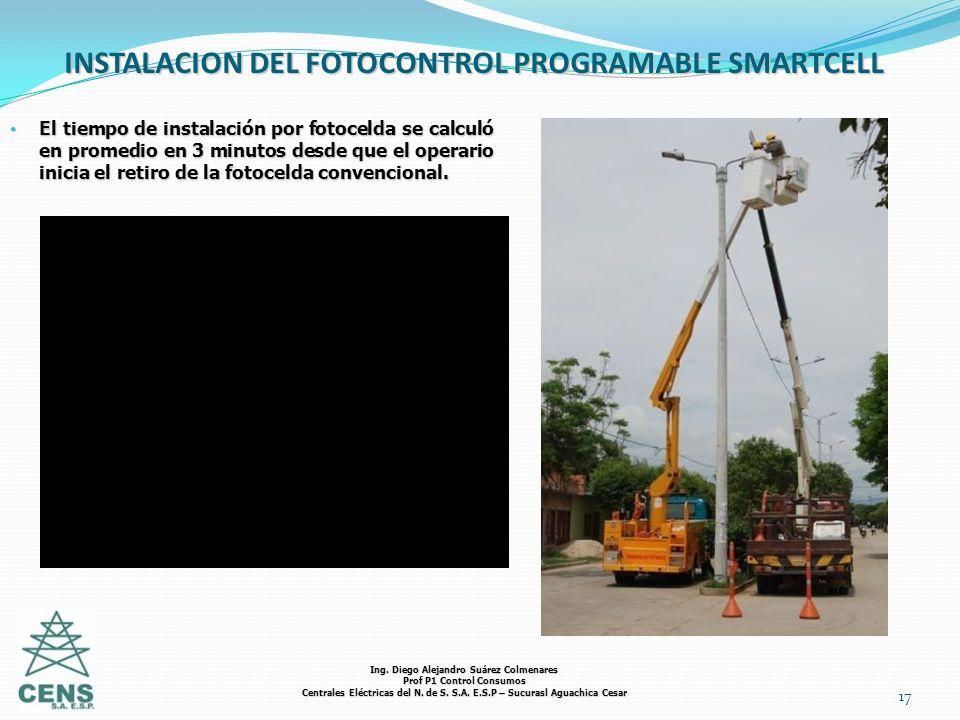 INSTALACION DEL FOTOCONTROL PROGRAMABLE SMARTCELL