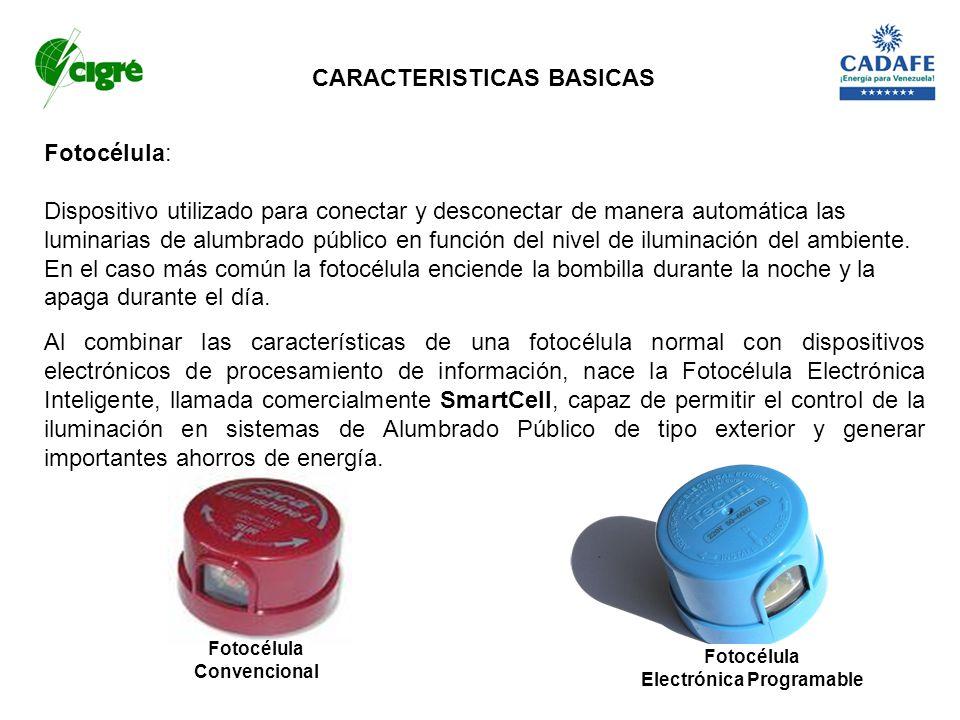 CARACTERISTICAS BASICAS Electrónica Programable