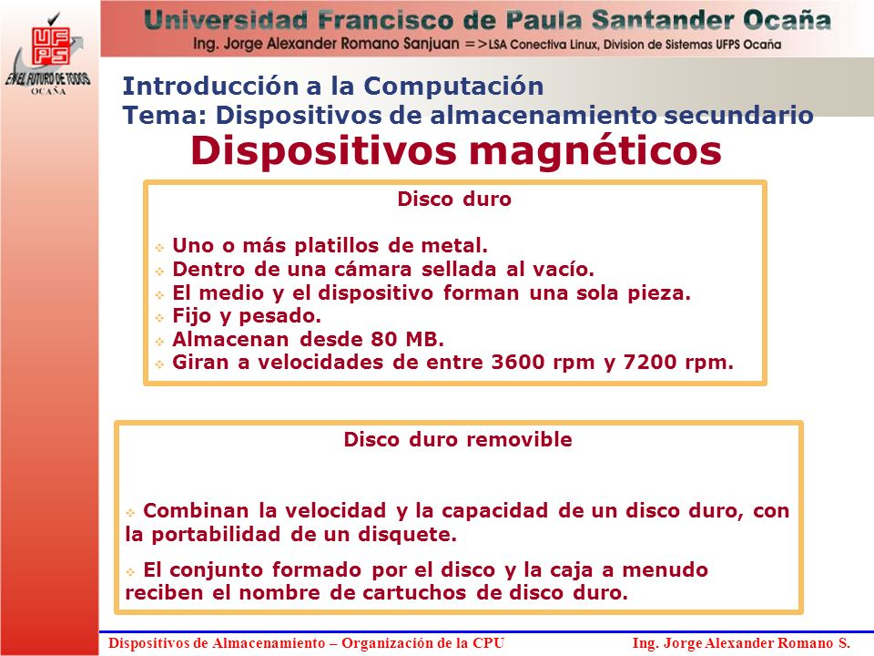 Dispositivos magnéticos