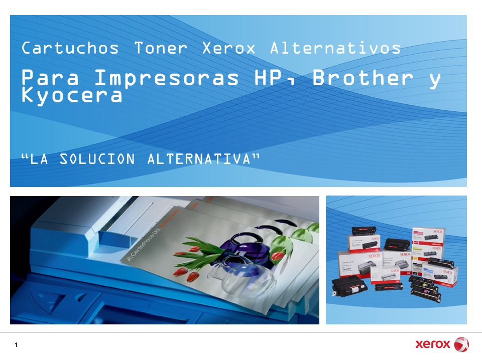 Para Impresoras HP, Brother y Kyocera
