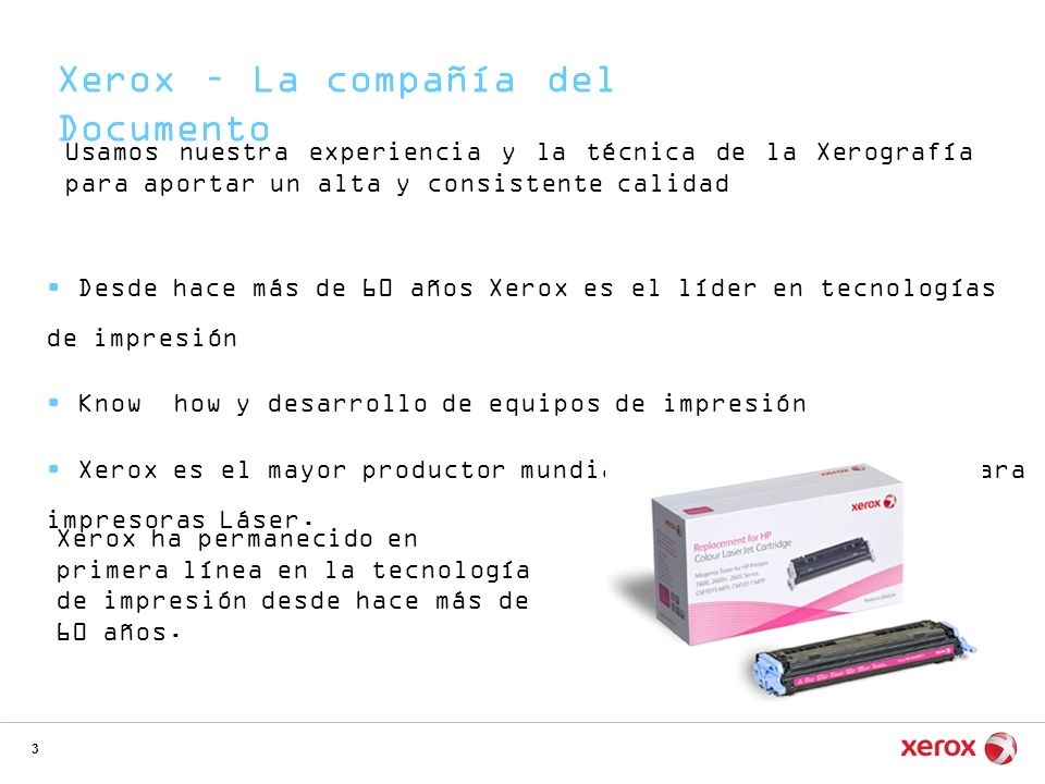 Xerox – La compañía del Documento
