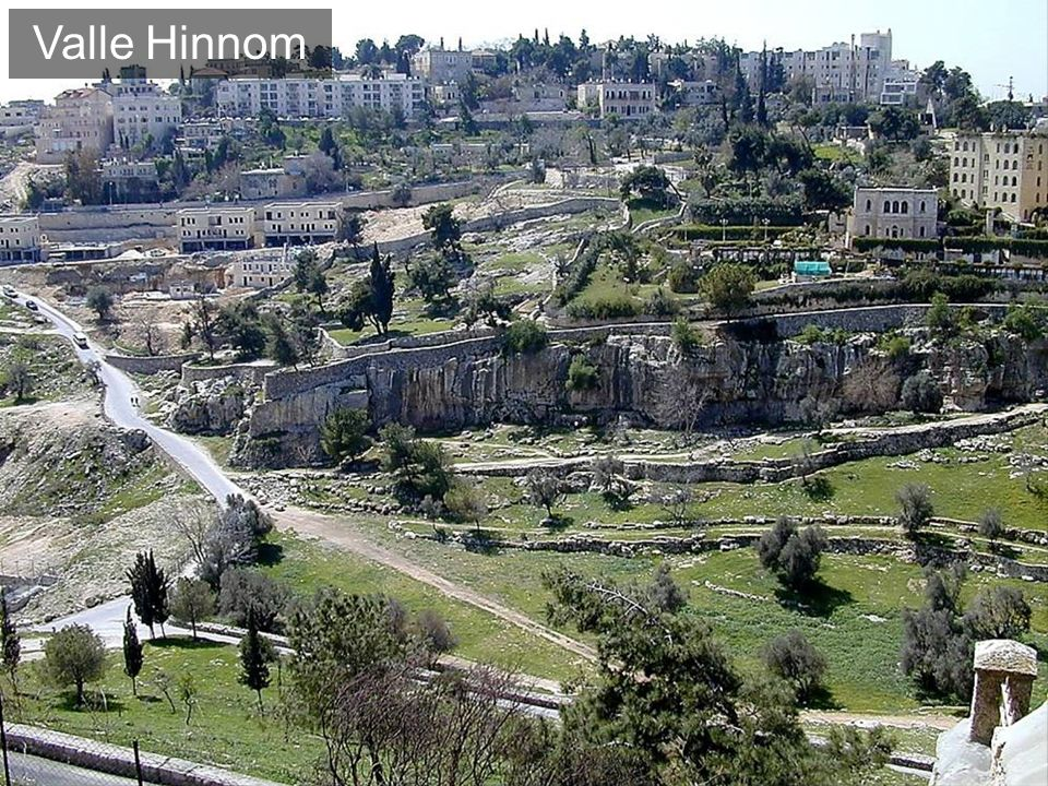Valle Hinnom The Origin of the Term Gehenna