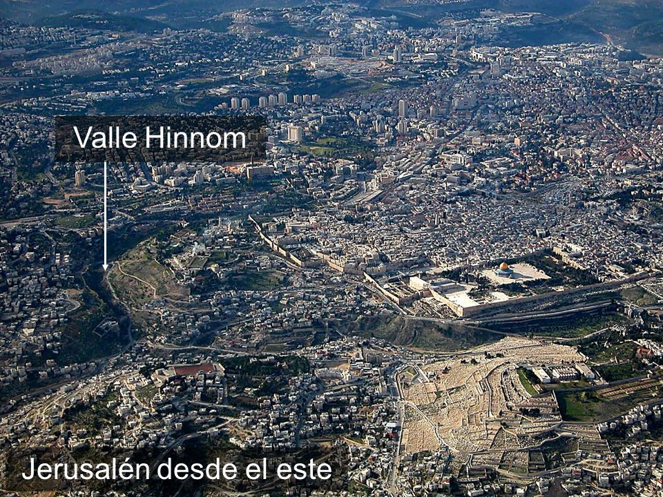 Jerusalem aerial from east