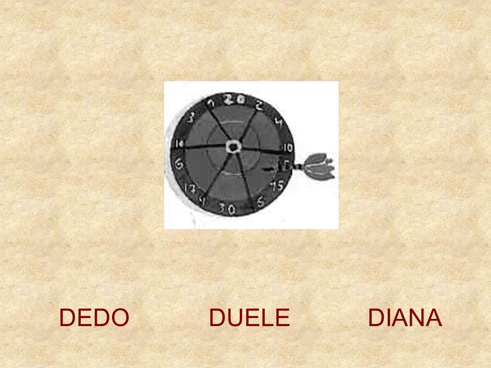 DEDO DUELE DIANA