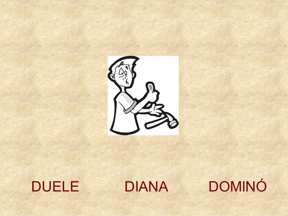 DUELE DIANA DOMINÓ