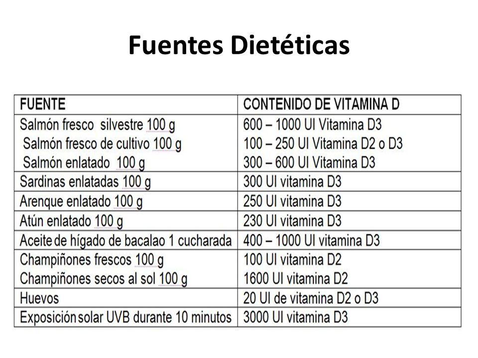 Fuentes Dietéticas