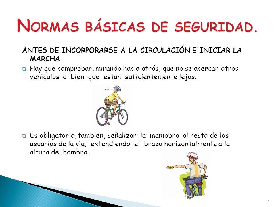 NORMAS BÁSICAS DE SEGURIDAD.