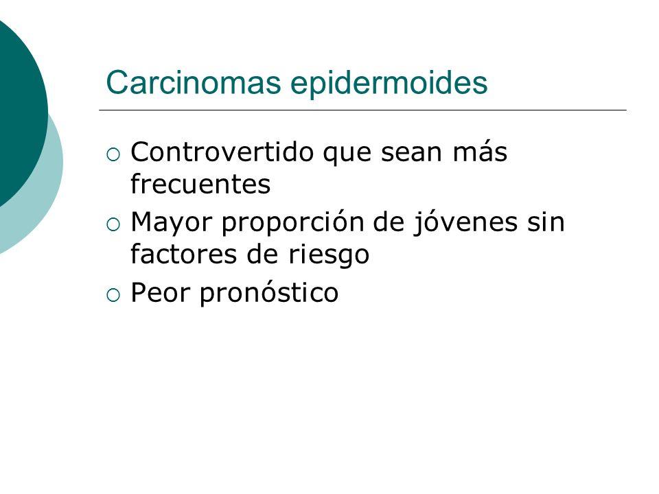 Carcinomas epidermoides