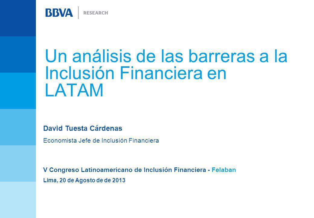 Un análisis de las barreras a la Inclusión Financiera en LATAM