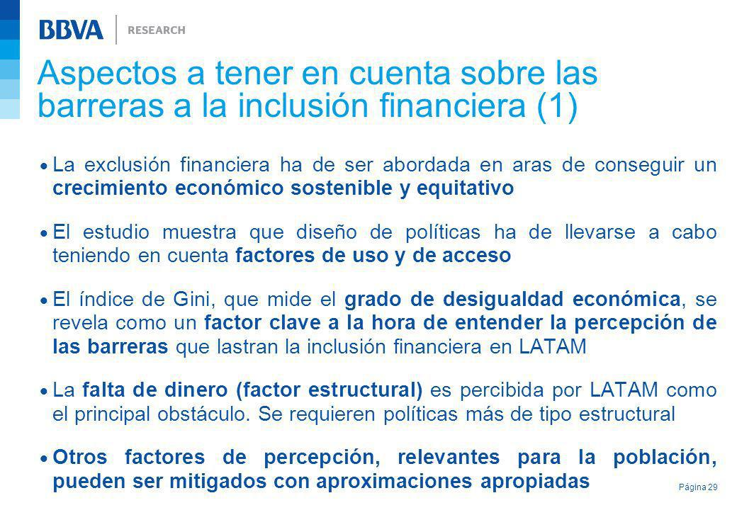 Aspectos a tener en cuenta sobre las barreras a la inclusión financiera (1)