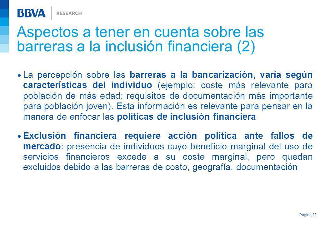 Aspectos a tener en cuenta sobre las barreras a la inclusión financiera (2)