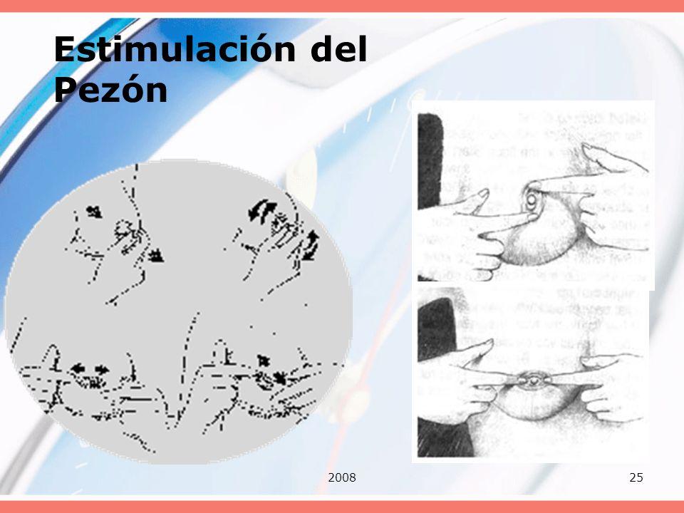 Estimulación del Pezón