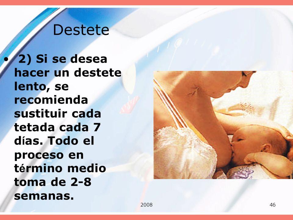 Destete