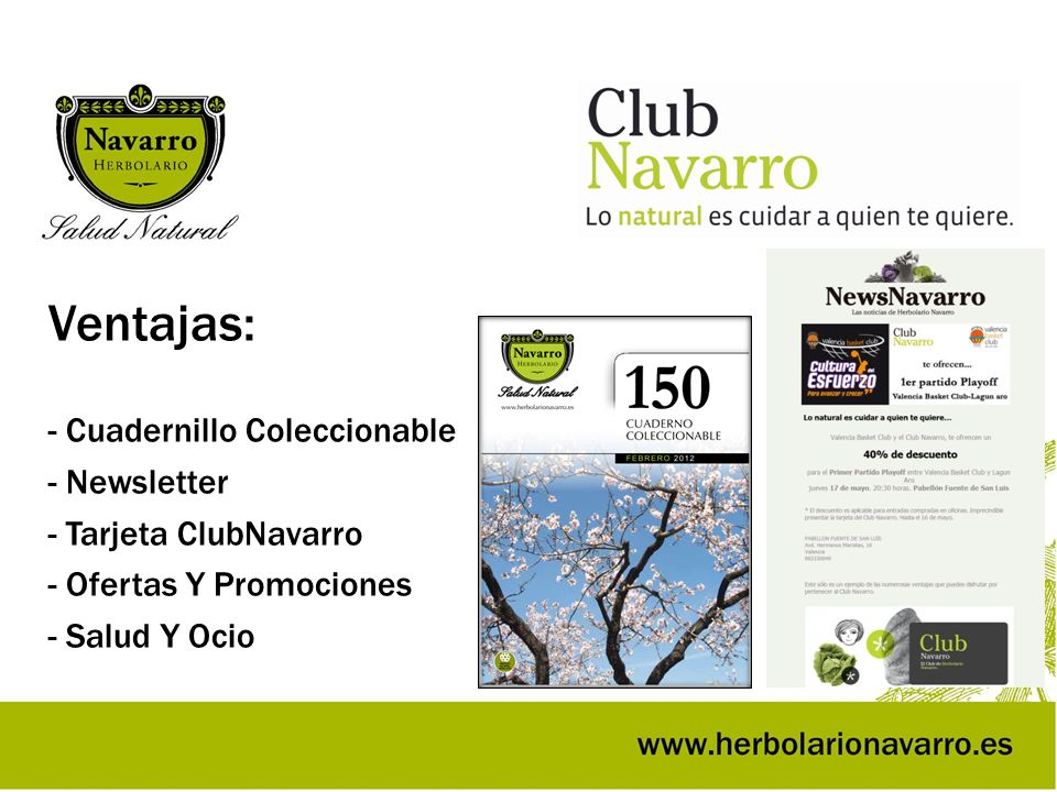 Ventajas: - Cuadernillo Coleccionable - Newsletter
