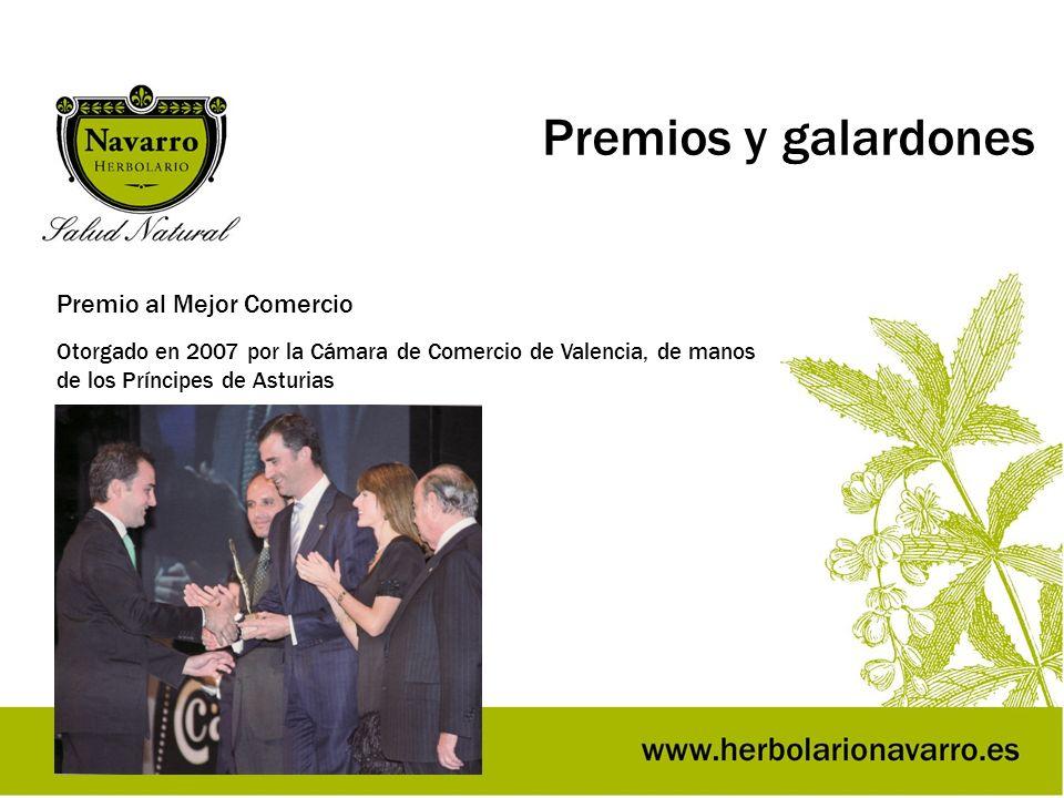 Premios y galardones Premio al Mejor Comercio